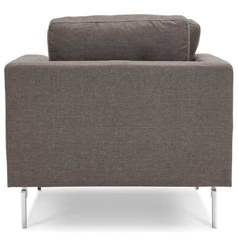 grijze moderne fauteuil fauteuil met 1 zitplaats sixty mini in heel moderne