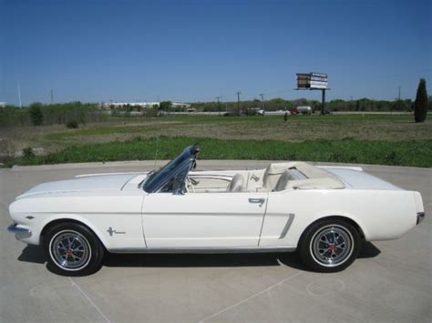 1964 mustang convertible for sale 1964 1 2 ford mustang convertible 289 w 4 speed
