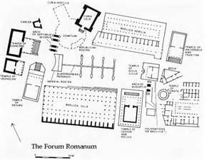 Ancient Roman House Floor Plan forum romanum