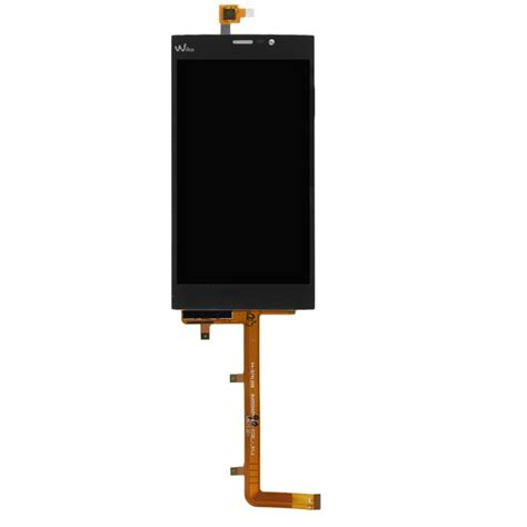 Touchscreen Wiko F122 1 complete screen assembly black lcd touchscreen