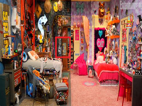 sam and cat room the gallery for gt sam and cat bedroom sam and cat room cats tridanim