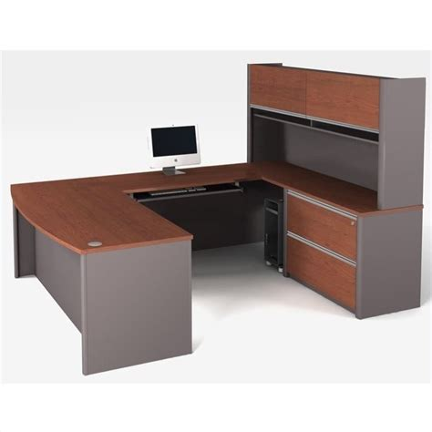 bestar connexion u shaped workstation with assembled