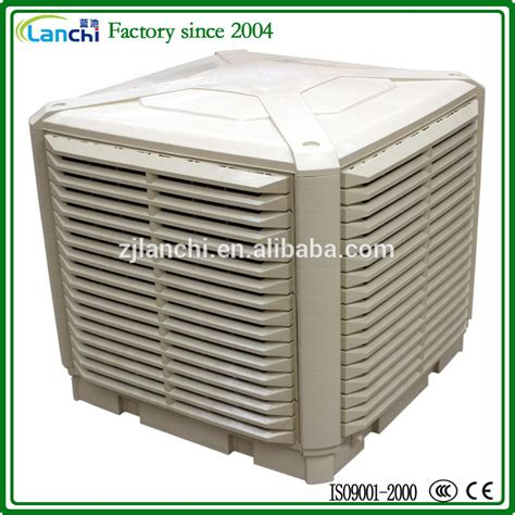 cost to install evaporative cooler on roof lanchi 50000m3 h large airflow honeycomb air cooler roof