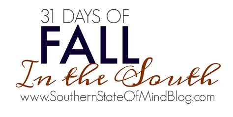 fall in the south southern state of mind