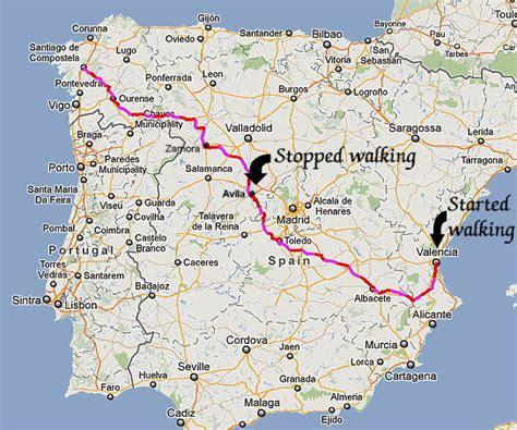 camino walk in spain 2012 camino de levante pilgrimage walk