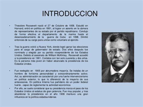 Mba Biografia by Trabajo Macroeconomia Theodore Roosevelt Mba Tp 50 G3