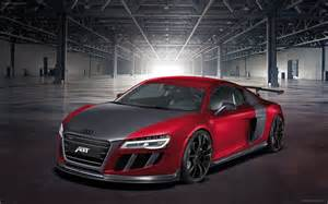 Audi R8 Abt Abt Audi R8 Gtr 2013 Widescreen Car Wallpaper 03