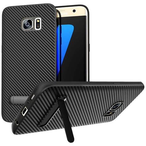 Slim Carbon Samsung S7 Edge by Samsung Galaxy S7 Edge Carbon Fibre Textured Gel With
