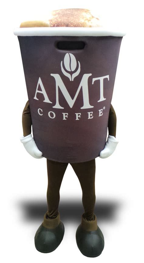 Coffee cup mascot costumes and muffin mascot costumes just got a whole lot better!   FRENZY
