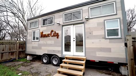 modern tiny homes modern tiny house on wheels with two lofts
