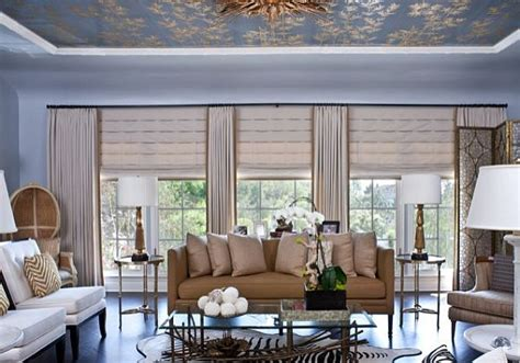 living room shades block the sun with sophisticated roman shades