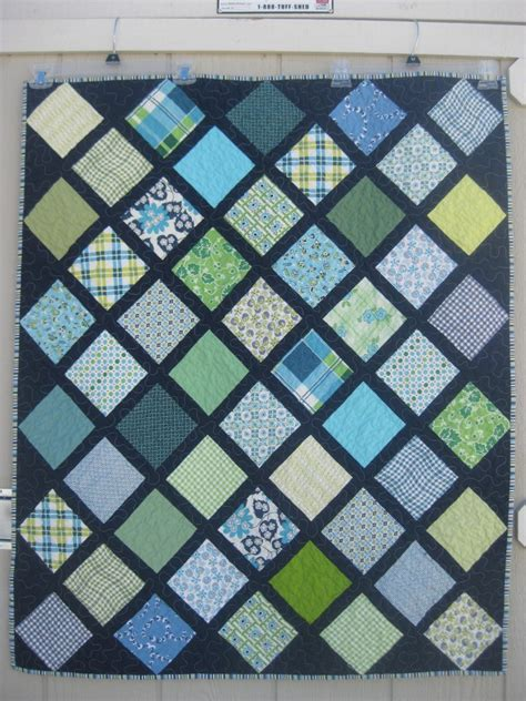 Charm Squares Quilt Patterns by Charm Squares On Point Quilt With Link To Tutorial To