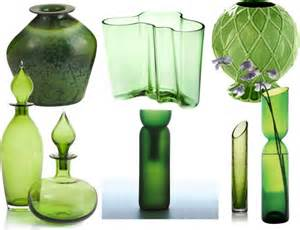 emerald green color of the year home decor accessories