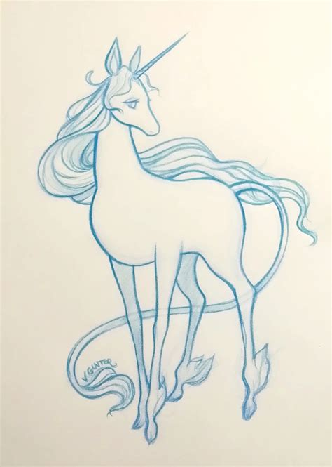 doodle how to make unicorn the last unicorn sketch virginia gunter www