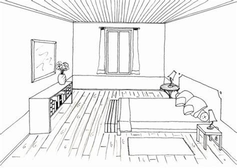 dessin d une chambre dessiner sa chambre en perspective chaios com