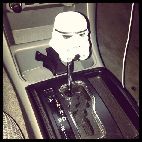 Stormtrooper Shift Knob by 301 Moved Permanently