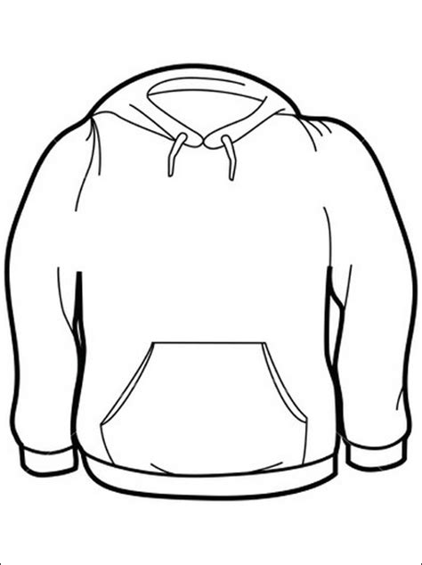 coloring page long sweater coloring pages