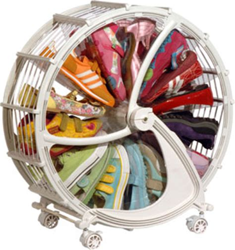 Win A Rakku Shoe Wheel by Saving Money Is All About Storing Cleverly