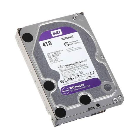 jual wd surveillance cctv disk purple 4 tb