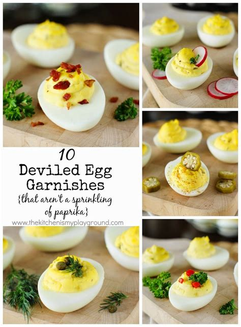 country style deviled eggs 10 deviled eggs garnishes that aren t a sprinkling of
