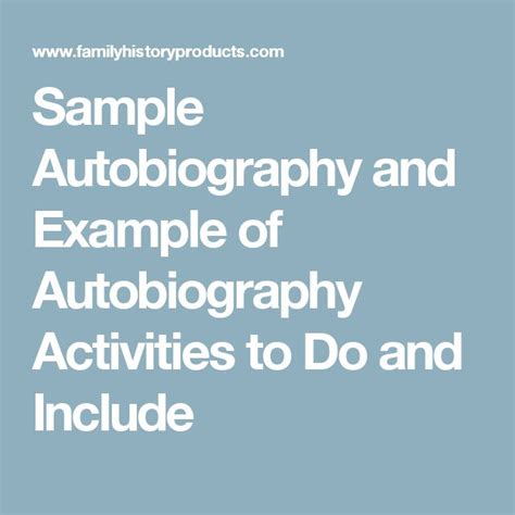 biography and autobiography sorting activity best 25 autobiography template ideas on pinterest