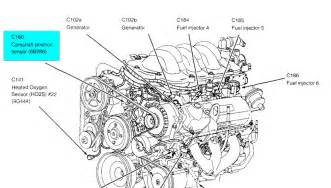 ford windstar 2001 engine diagram auto parts diagrams