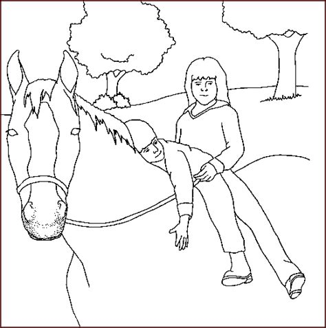 free horse faces coloring pages