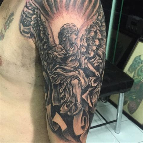 guardian angel tattoo half sleeve 21 half sleeve tattoos ideas design trends premium