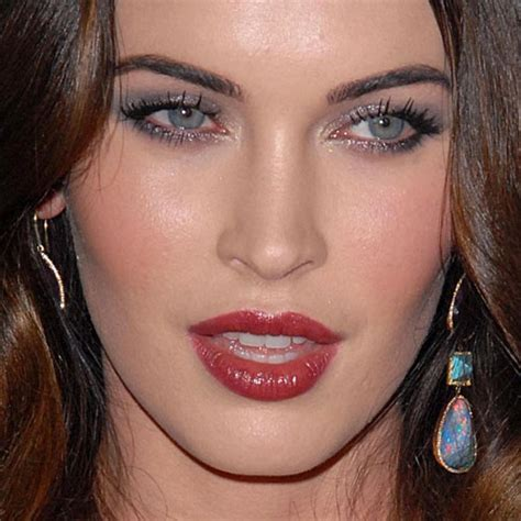 megan foxs makeup how to get her skin bold lip exact look discussion your fav eye hair color combo classic atrl