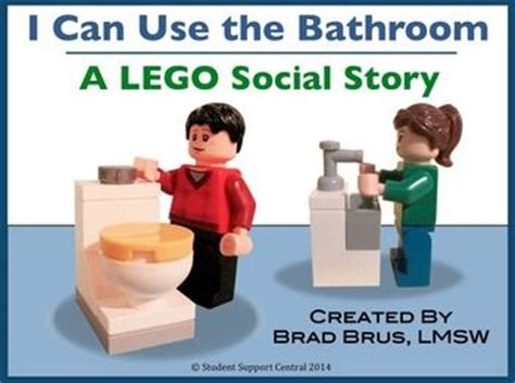 social story for using the bathroom at school lego bathroom social story engage your students with this