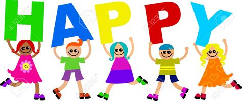 happy clip word clipart happy pencil and in color word clipart happy