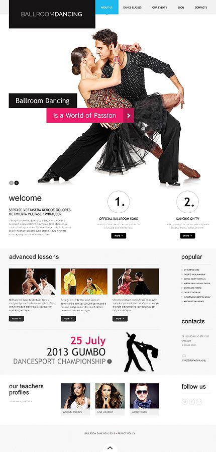education theme dance 50 hand picked education wordpress themes for spreading