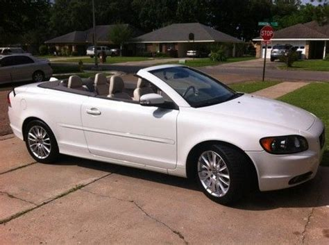auto air conditioning service 2009 volvo c70 parking system purchase used 2009 volvo c70 convertible white great condition leather interior in lafayette