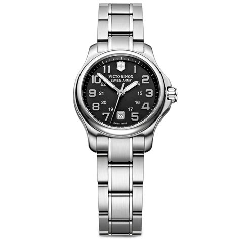 Lyst   Victorinox Swiss Army Watch Womens Officers Xs Stainless Steel Bracelet in Metallic