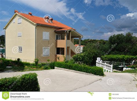 appartments in croatia apartment in croatia royalty free stock photo image