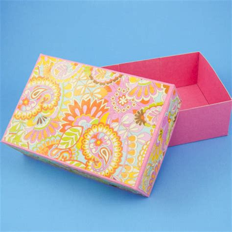 pattern box how to make a rectangular box pattern boxes and bags