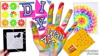 5 diy wall projects or diy walls room decor tutorial