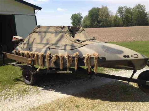 duck hunting boats for sale in indiana 14 tdb duck boat for sale indiana sportsman your