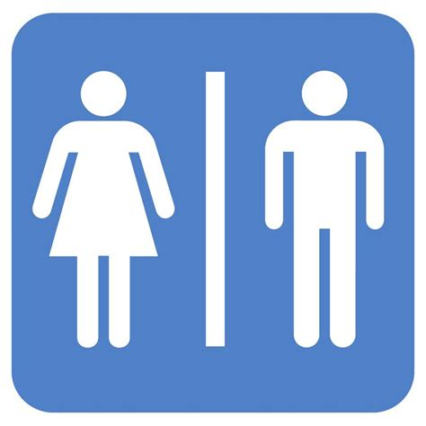 bathroom symbols restroom symbol clipart best