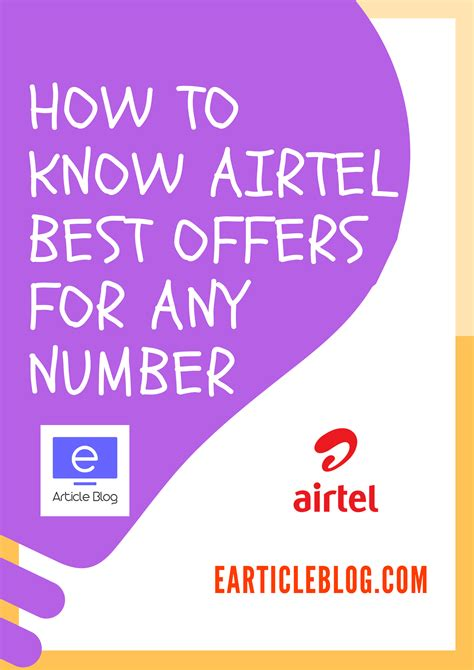 Airtel Number Address Search How To Check Best Offer Plans For Any Airtel Mobile Number Without Retailer Sim Card