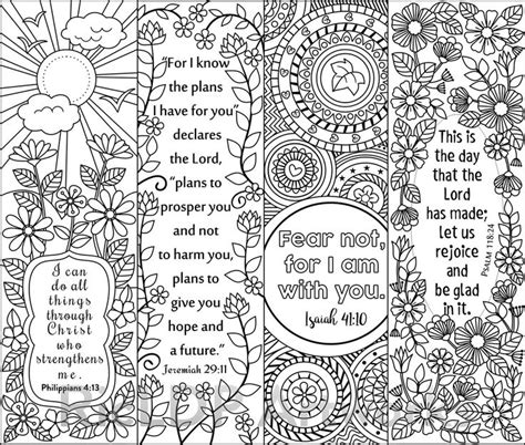 christian bookmarks coloring book 120 bookmarks to color bible bookmarks to color for adults and with inspirational bible verses flower and seniors volume 1 books 410 best images about bookmarks on