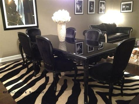 Black Dining Table With 6 Chairs Carved Dining Table 6 Chairs Black Client Photo Fabulous Baroque Fabulous And