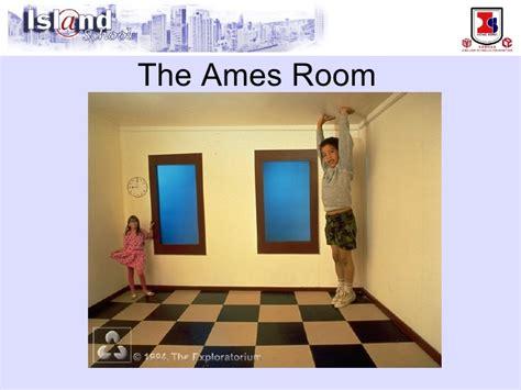 the ames room t o k perception