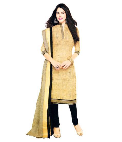 Venya Dress venya style beautiful beige cotton printed designer casual