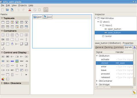 glade layout editor download py gtk tutorial per erik strandberg