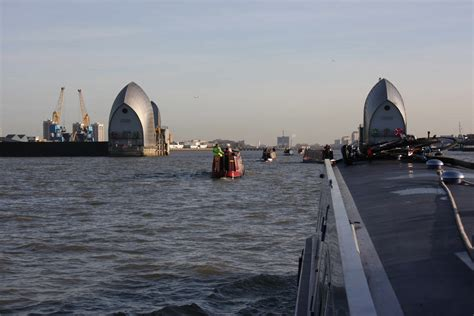 thames barrier opening 301 moved permanently