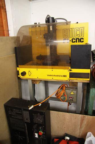 bench top cnc mill emco bench top cnc mill bw machine tools