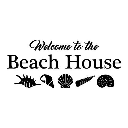house boat quotes welcome to the beach house wall quotes decal wallquotes