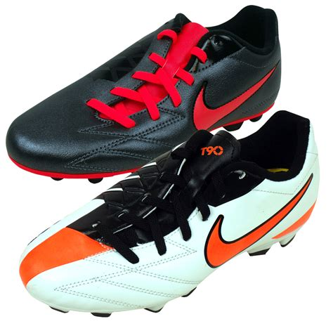 nike football shoes for boys boys nike total 90 fg firm ground football boots junior