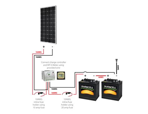 marine 12v solar panel wiring diagram 37 wiring diagram